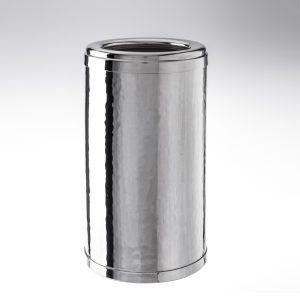 Cestello del ghiaccio per il vino in argento trilaminato