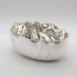 centro tavola argento stile 700