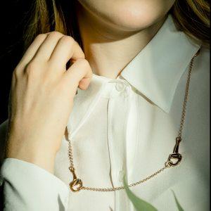 collana argento staffe