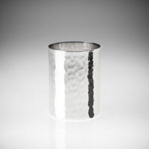 Bicchiere acqua in argento trilaminato