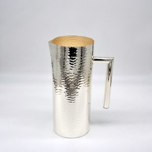caraffa trilaminato d'argento moderna