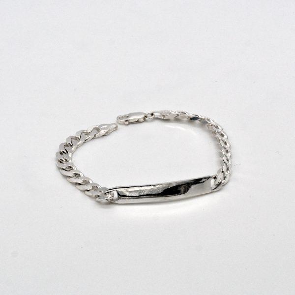 bracciale in argento da uomo