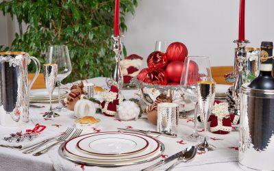Tre idee per una mise en place di Natale impeccabile
