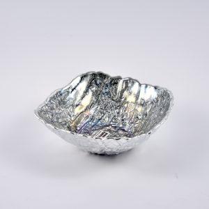 ciotola quadrate color argento
