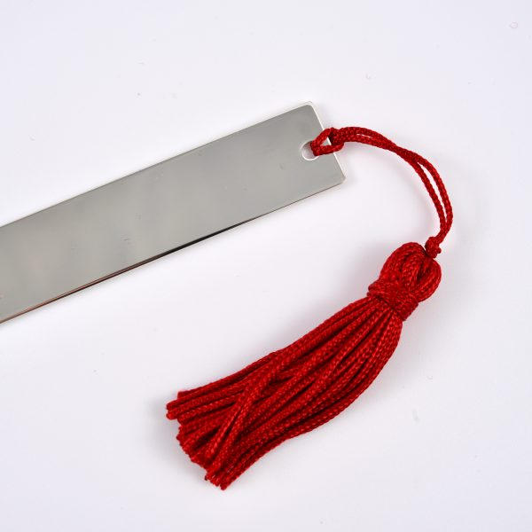 segnalibro argento incisione