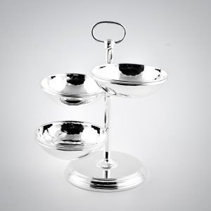 porta salatini trilaminato argento regalo nozze