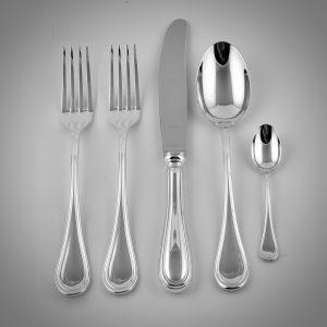 posto tavola posate in silver plated